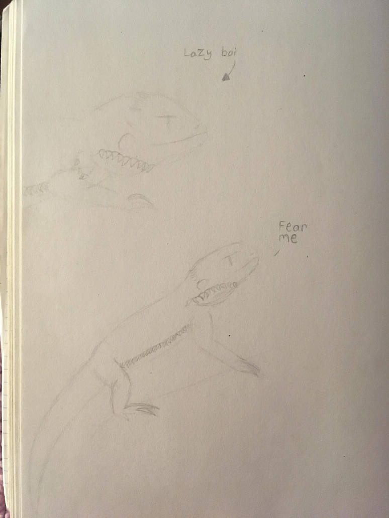 Hunter doodles by Ninjagofan0666