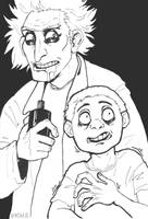Rick and Morty by Zapekanka