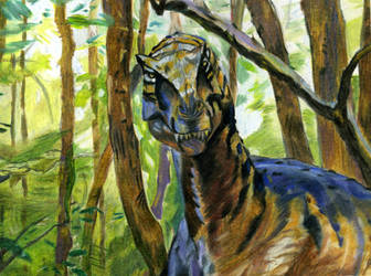 Allosaurus by clanaghan