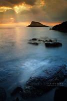 Duntulm Coast by Stridsberg