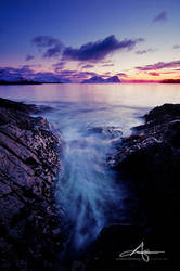 Below the lighthouse by Stridsberg