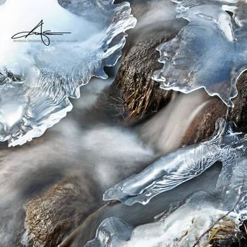 Frozen Creek by Stridsberg