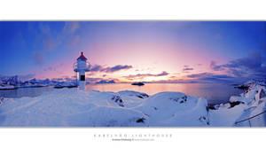 Kabelvag Lighthouse by Stridsberg