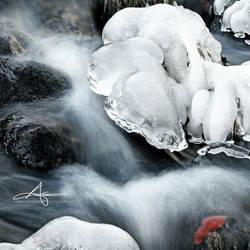 Winter Creek by Stridsberg