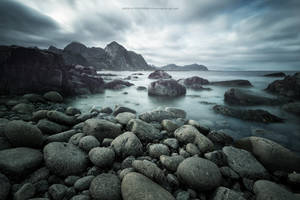 Coast of Vareid by Stridsberg