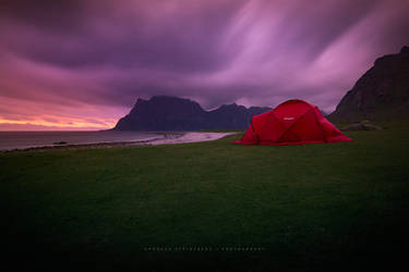 Red Tent by Stridsberg