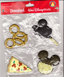 mickey food magnets by dragonstalon65