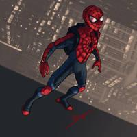 Spider-Man Reboot Costume by DanielHeard