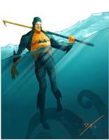 Aquaman Redesign by DanielHeard