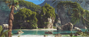Tropical Scenery prt. 1 by 3DLandscapeArtist