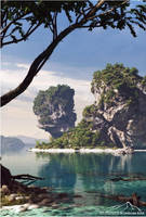 Tropical Scenery prt. 3 by 3DLandscapeArtist