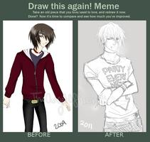 Draw this again meme by utaemon