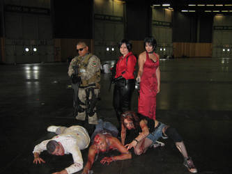 Cosplay Resident Evil japan expo 2014 by jennifer7878