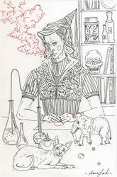 she is alchemist by annaorca