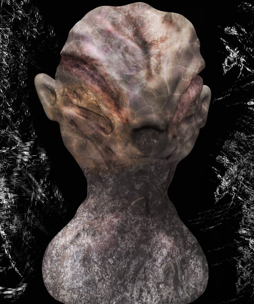 Creature--- sci-fi zbrush keyshot photoshop by longhairboo