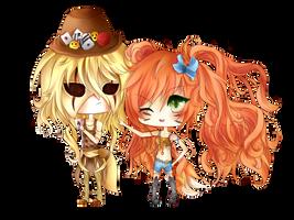 [COMMISSION] Venceslas and Swann ~ by Oksa-Nya