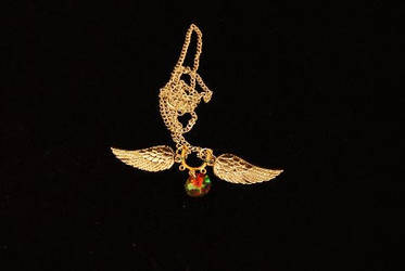 wing pendant necklace by sharp4114