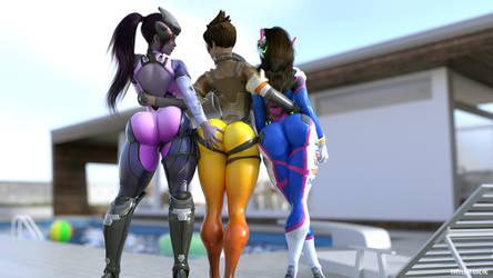 Overwatch buttz by EndlessRain0110