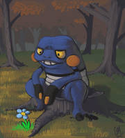 Croagunk by DrManiacal
