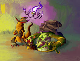Pokemon White Team by DrManiacal