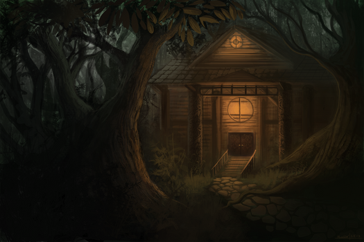 the cabin by DrManiacal
