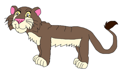 Jellie Sphinx or Jellie Cave Lion by KallyToonsStudios