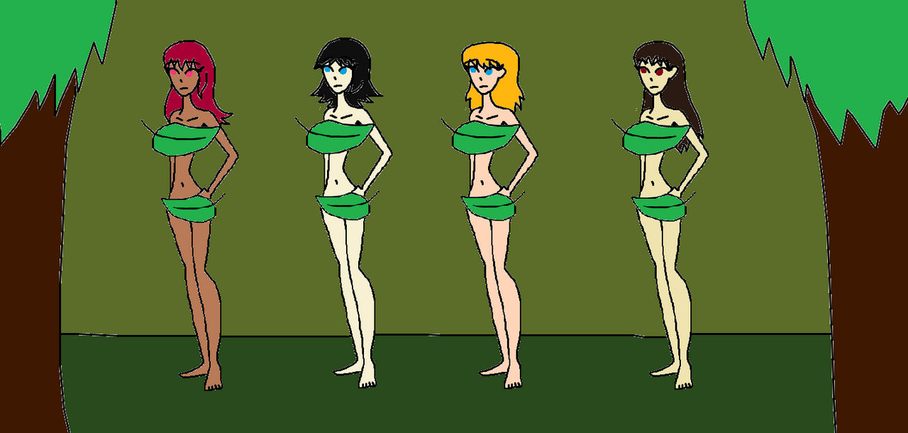 Other (JT) Jellie Girls in Forember by Syfyman2xxx by KallyToonsStudios