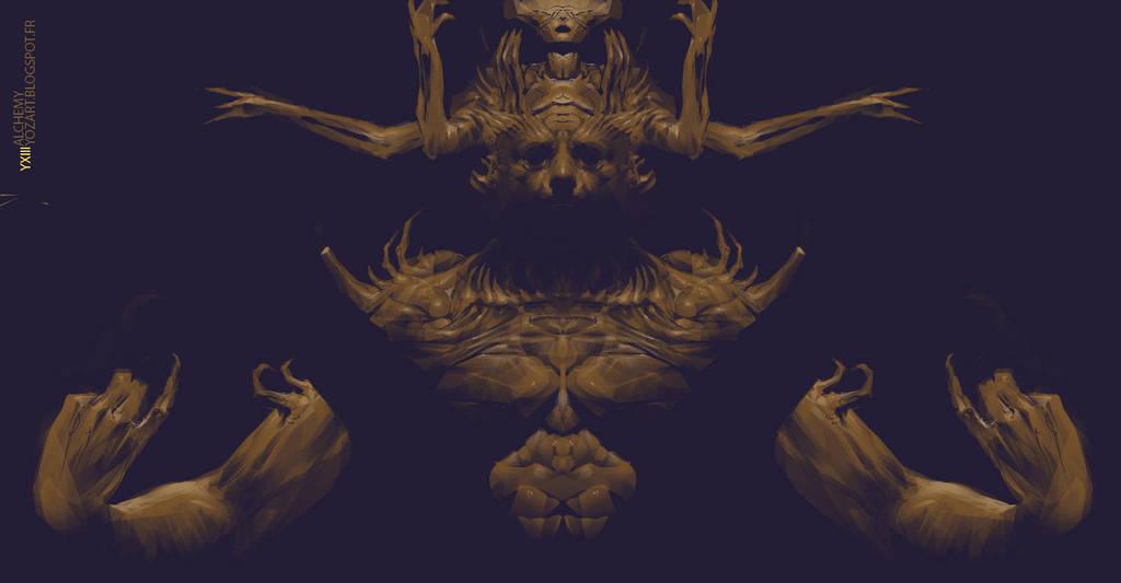 god gold by yozartwork
