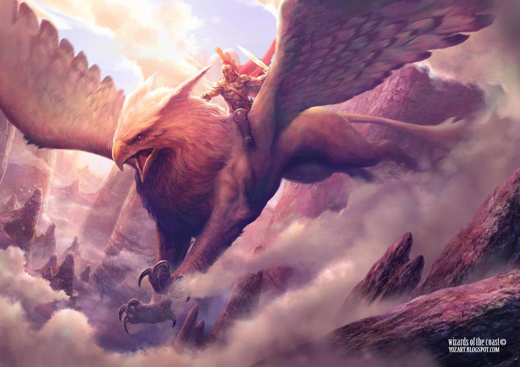 Griffin by yozartwork