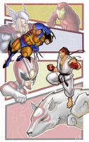 Marvel VS Capcom 3 by goukiyan