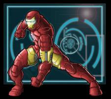 iron man by goukiyan
