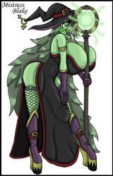 Mistress Blake by WorldofSolgamia