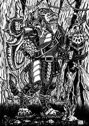 Rengar (League of Legends) by Kozi87