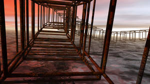 Rusty Cubes by Harry-Paraskeva