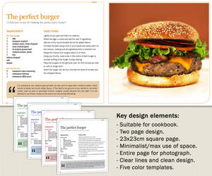 Cookbook - Design 01 by Harry-Paraskeva