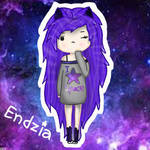 Galaxy girl my version 3  by EndziaXD