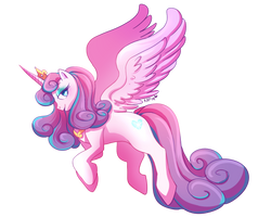 flurry heart by Kitzophrenic