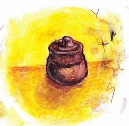 Sugar jar by blaahy