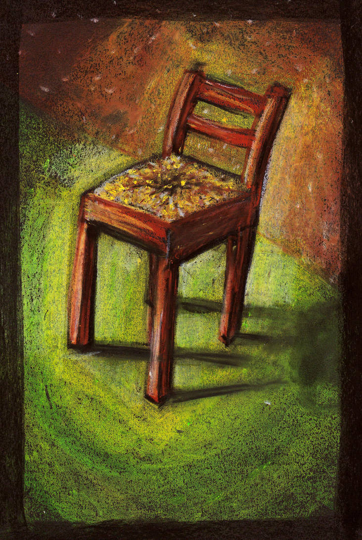 Wooden chair by blaahy