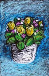Flowers by blaahy