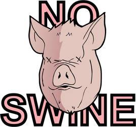 No Swine by Isa81