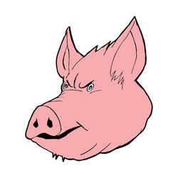 Pig Face by Isa81