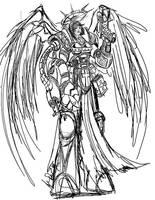 Battle Sister Sketch by imagesbyalex