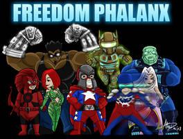 Freedom Phalanx by imagesbyalex
