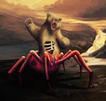 Spiderbearzombie by Noekkvadis