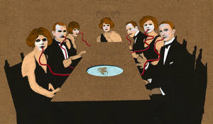 The dinner party by derkert