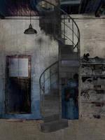 Spiral staircase 3 by derkert
