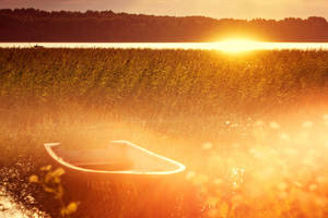 Country Sunset by Eredel