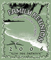 Family reunion t-shirt by rschuch