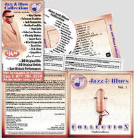 Jazz and blues cd by rschuch